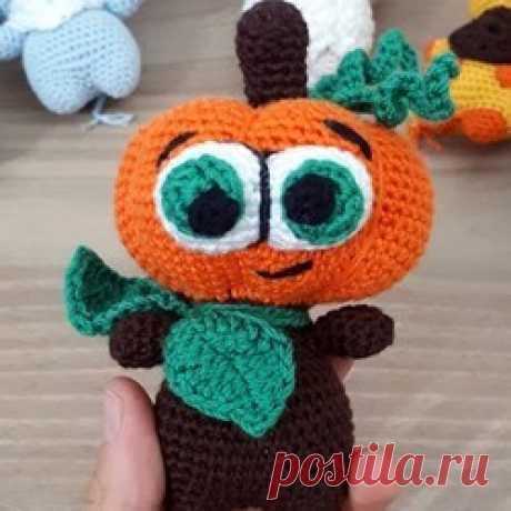 Тыква Хэллоуин крючком | AmiguRoom