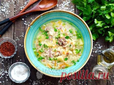 Суп с тушенкой, пшеном и яйцом — рецепт с фото Суп готовится очень быстро, рецепт под силу даже неопытному кулинару.