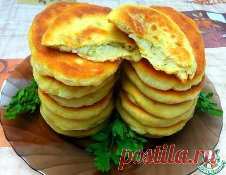 Тонкие пирожки на кефире с картофелем | ПОВАРЁНОК.РУ | Яндекс Дзен