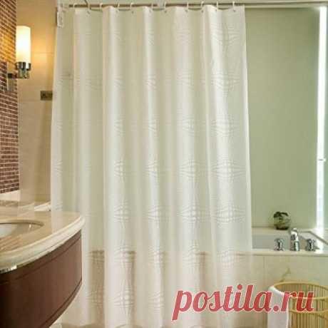 Шторы в ванной и фэн-шуй #шторы #ванна #фэншуй