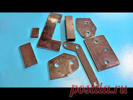 Никогда не выбрасывайте обрезки металла!Never throw away scraps of metal! Make a cool idea! - YouTube