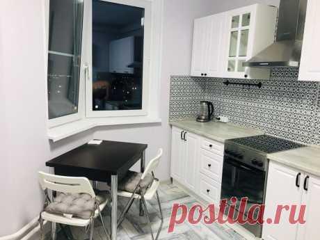 Рукастый муж красиво отремонтировали кухню и санузел – фото