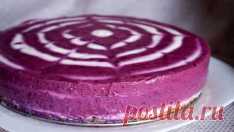 Черничный творожник: отличная замена калорийным тортам!