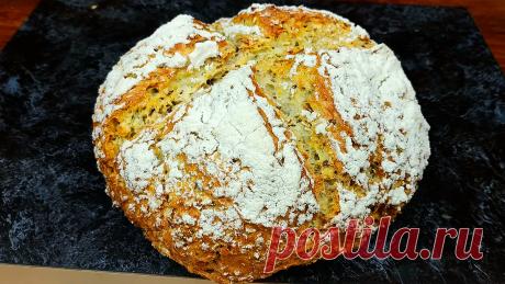 Быстрый хлеб за 5 минут плюс выпечка | Кулинарный Микс | Яндекс Дзен