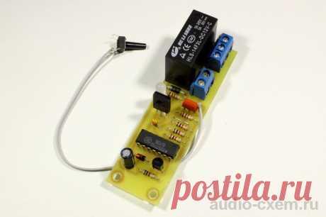 Управление мощной нагрузкой одной кнопкой Приветствую, радиолюбители-самоделкины! В составе практически любого электроприбора будут элементы, обеспечивающие его включение и выключение - чаще всего это тумблеры или различные кнопки, смена положения которых приводит ко включению или выключению устройства. При этом конструкция выключателя