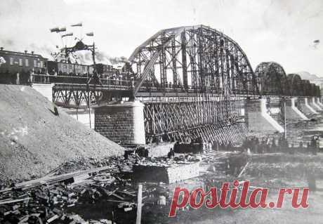 старый железнодорожный мост в красноярске кем и когда был построен: 13 тыс изображений найдено в Яндекс.Картинках