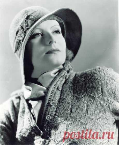 Greta Garbo by Clarence Sinclair Bull, 1930