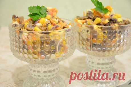 Грибной салат Пальчики оближешь - рецепт с фотографиями - Patee. Рецепты