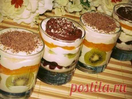 шеф-повар Одноклассники: Десерт творожный - просто пальчики оближешь! Домашние его обожают!