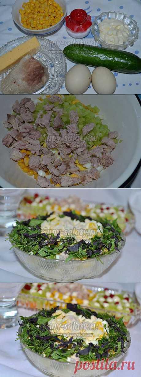 Салат на Пасху с мясом и сыром. Нежный ангел. Рецепт с пошаговыми фото