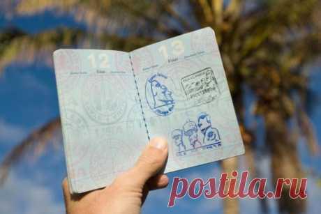 На границах каких странах вам в паспорт поставят необычный штамп   Все о туризме и отдыхе