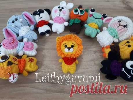 Предлагаю Вам мой новый перевод маленького львенка из серии малышей от Leithygurumi. А так же для удобства прилагаю все переводы Виктории Гилевой остальных малышей от Leithygurumi.