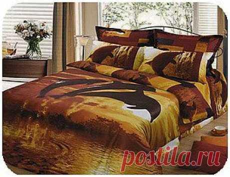 Постетика - постельное белье из сатина в Казани