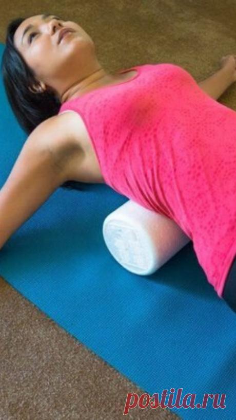 Как Японцы убирают свисающий живот и бока, благодаря 5 минутной гимнастике с полотенцем - Советы и Рецепты