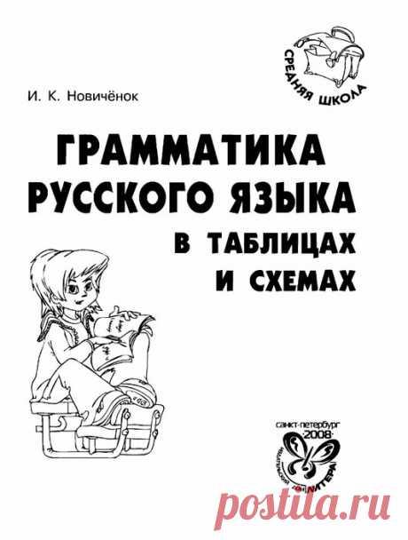 Грамматика русского языка в таблицах и схемах. И.К.Новичёнок.