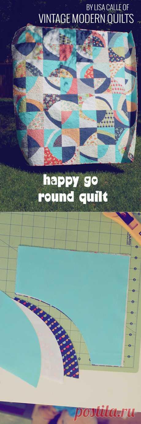 Moda Bake Shop: Happy Go Round Quilt