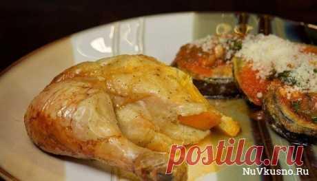 La gallina cocido con las naranjas ·