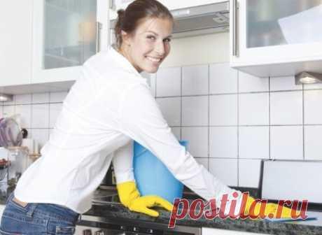 Уборка дома без химических средств - полезные хитрости