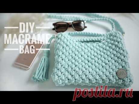 DIY Macrame Bag / Torebka ze sznurka