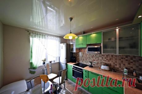 Чем отделать потолок на кухне? 5 самых популярных и недорогих способов | Ваш личный мебельщик | Яндекс Дзен