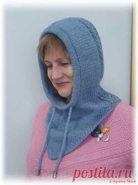 КАПОР СПИЦАМИ (Вязание спицами) – Журнал Вдохновение Рукодельницы
