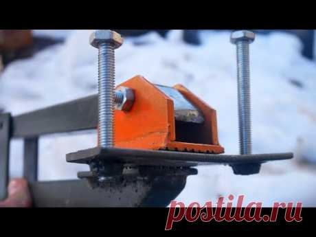 SMART IDEA - AWESOME DIY TOOL FROM A PROFILE PIPE