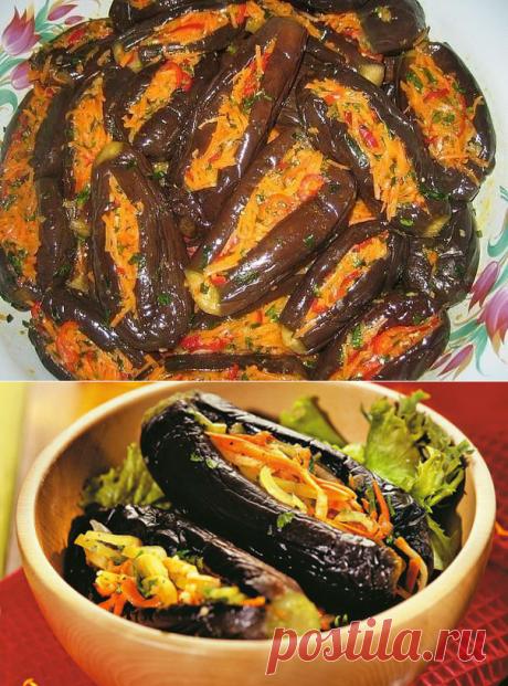 Манзаны - фаршированные баклажаны по-гречески, 2 рецепта