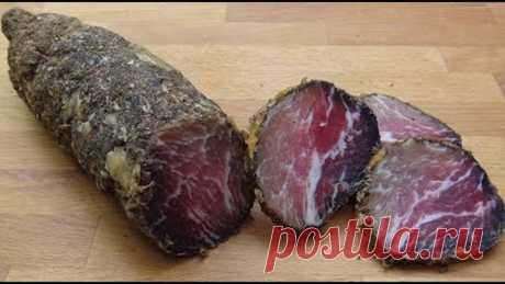 Супер сыровяленое мясо в домашних условиях. Полезный совет.