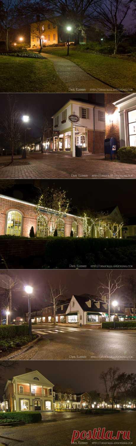 night_in_city: Ночной Вильямсбург (Вирджиния, США)