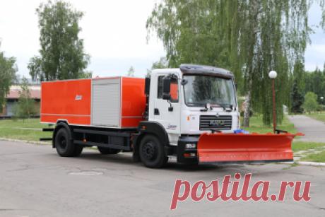 Каналопромывочный спецавтомобиль КрАЗ-5401Н2 получил Горишнеплавневский горсовет