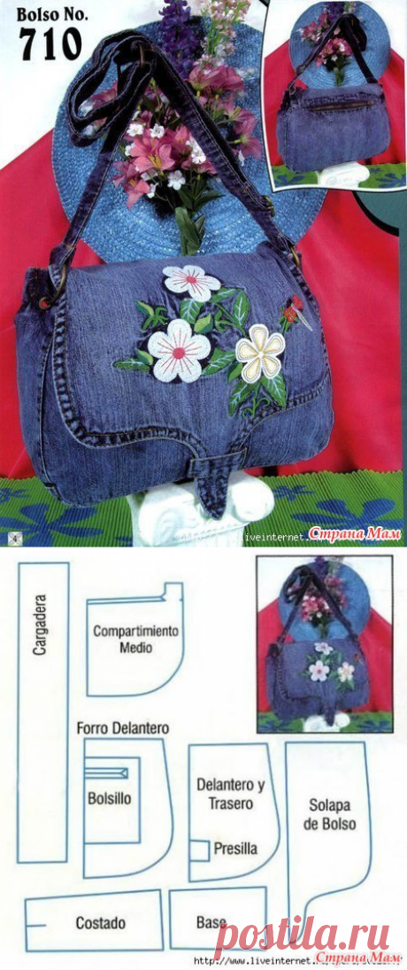 We sew jeans bags - Jeans miracles! - Country of Mothers