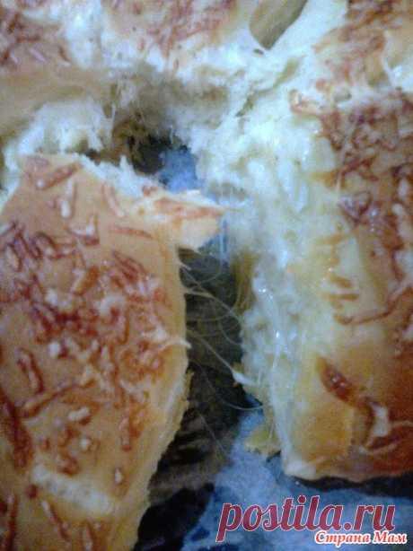 Погача сырная, ароматная, чесночная - Домашняя выпечка - Страна Мам