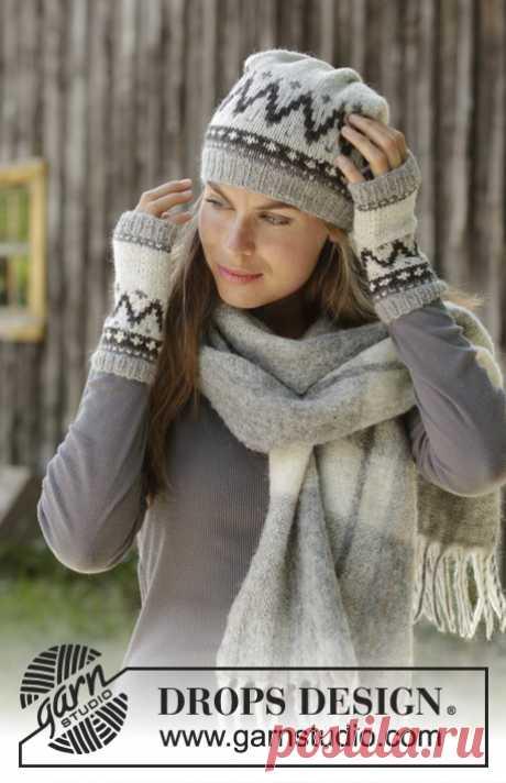 Комплект из шапки и митенок Steingard Set - блог экспертов интернет-магазина пряжи 5motkov.ru