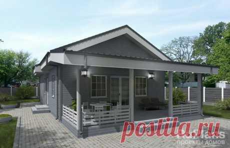 Rg5731   - Одноэтажный дом с террасой
