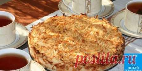 Яблочный пирог «3 стакана» — Сочная начинка и хрустящая сахарная корочка ! Невероятно вкусный и сочный пирог за 15 минут, без яиц и никакой возни Яблочный пирог «3 стакана» — Сочная начинка и хрустящая сахарная корочка! Предлагаю испечь простой яблочный пирог – никакой возни с тестом, потому что и теста (в привычном понимании) нет . А еще в нем нет яиц. Несмотря на то, что печется пирог долго, на подготовку нужно всего 15-20 минут — а дальше старается духовка и без вашего ...