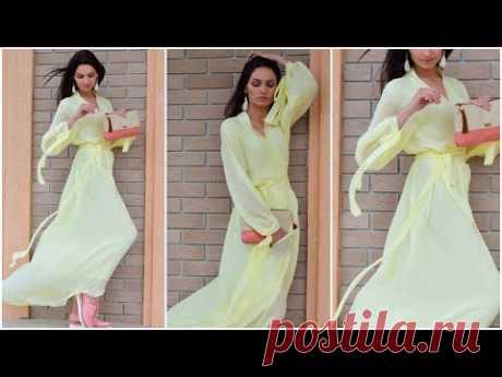 """Как шить платья, пальто и кардиганы методом """"халат"""". Варианты моделей."""