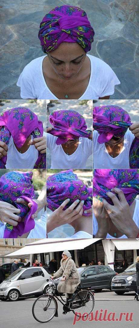 Turban.\u000d\u000aDesign the hands
