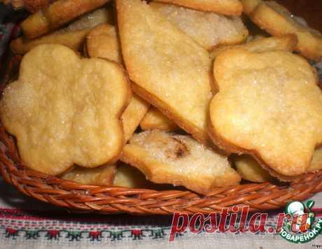 """Печенье """"Минутка"""" – кулинарный рецепт"""