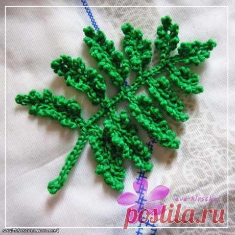 Растения крючком - Мастер-классы | Цветы крючком - Цветочная душа