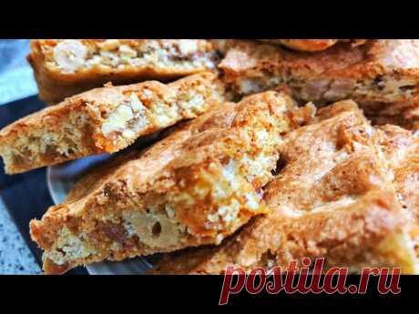 Вкуснее чем в магазине. Самое быстрое и вкусное печенье к ЧАЮ, ДОМАШНЕЕ ПЕЧЕНЬЕ МАЗУРКА/ #выпечка