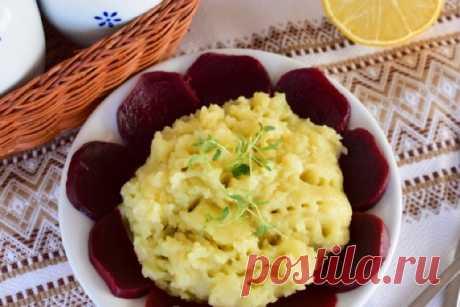 """Греческая закуска из картофеля """"Скордалья"""""""