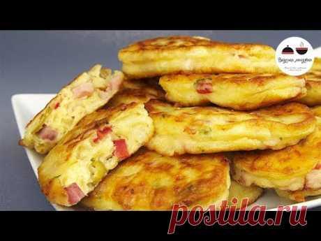 Оладьи-пиццы. Объедение! Необыкновенно вкусный, ароматный и питательный завтрак