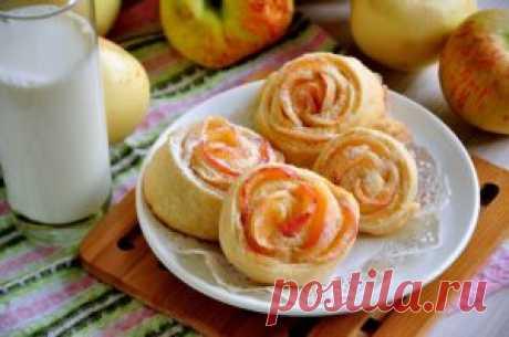 Булочки с яблоками рецепт с фото пошаговый