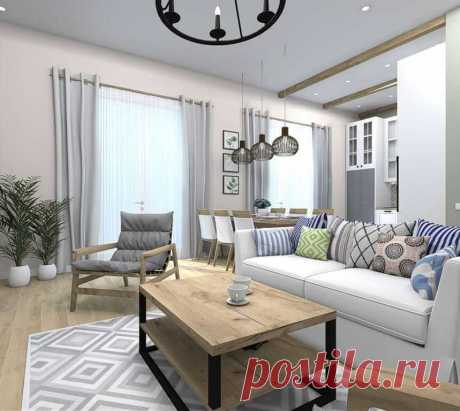 Средиземноморский стиль в интерьере гостиной: основные принципы дизайна, примеры готовых решений с фото