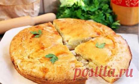 Курник простой (оригинальный рецепт) - пошаговый рецепт с фото на Повар.ру