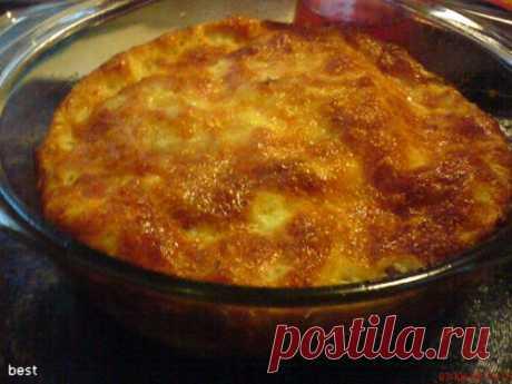 Рыбно-сырное суфле - кулинарный рецепт