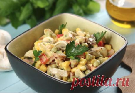 Салат из копченой курицы - рецепт с фото | Cookingfood.com.ua
