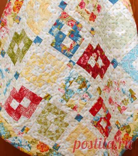Марго Лангедок. За что я люблю ее чудесные схемы для лоскутных одеял | Я люблю пэчворк | Яндекс Дзен