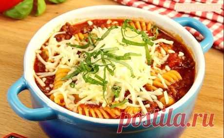"""Soup \""""Bolognese\"""": the well-known recipe in a new way - life4women.ru"""
