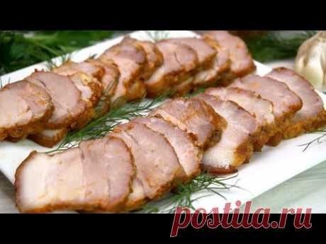 Вместо колбасы и ДОРОГОЙ буженины  на праздничный  стол, готовлю вот такое тающее мясо во рту